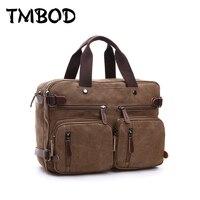 Hot 2018 New Simple Men Messenger Túi Quân Canvas Handbags Tote Bag Shoulder Túi Crossbody cho Nam Bolsas an585