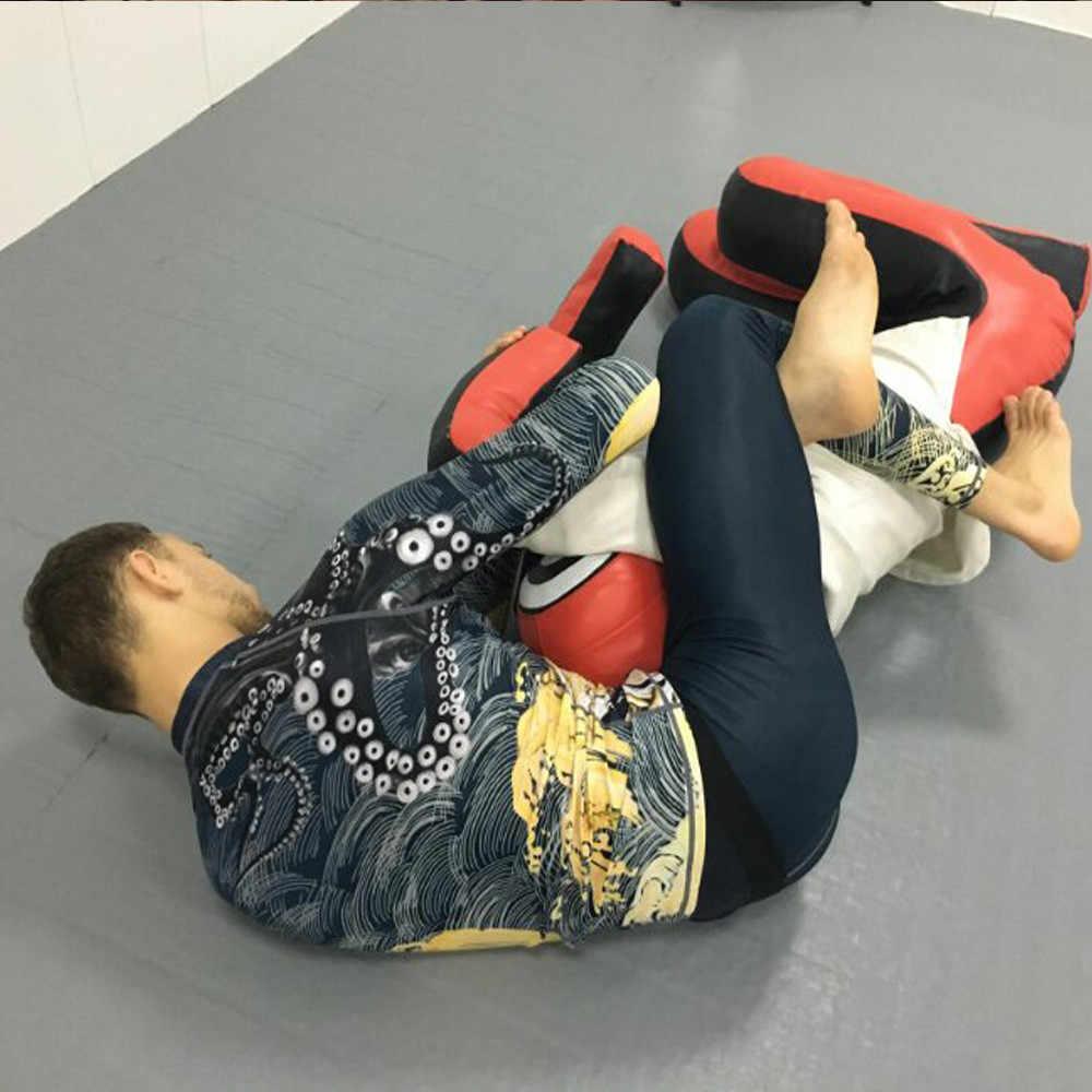 عالية الجودة Mma Rashguard التسامي المطبوعة Bjj الملاكمة ضيق Pretorian الملاكمة التايلاندية MMA جيو جيتسو Boxeo الرياضة طفح الحرس السراويل