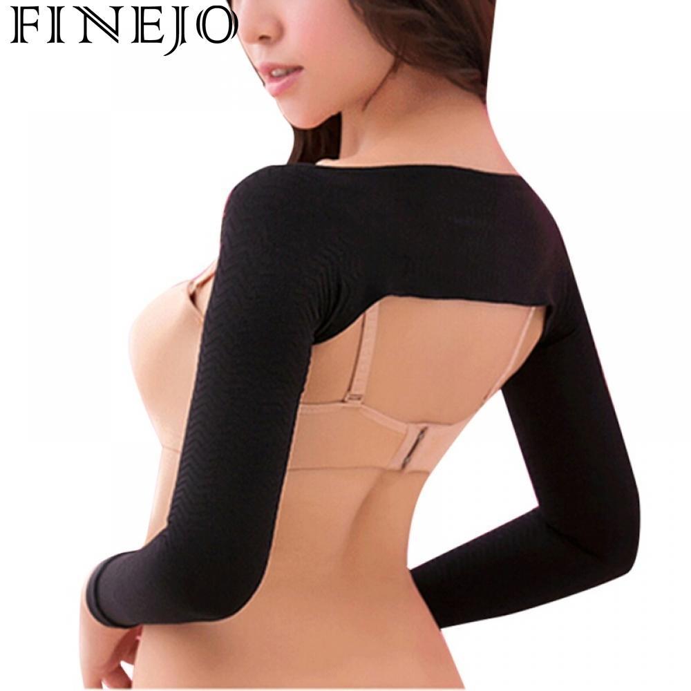 Women's Accessories Apparel Accessories 2018 Womens Slim Arm Correct Back Posture Humpback Prevent Long Sleeve Shaper