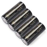 8pcs 26650-50A Lii-50A LiitoKala 26650 5000 mAh Li-ion 3.7V Rechargeable Battery for Flashlight 20A new packaging