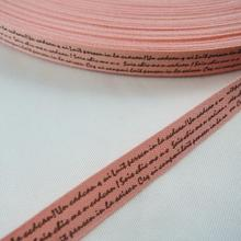 "NEW 6 colors mix 6yards 3/8"" 10mm 100% cotton ribbon ancient ways cursive script notes tower sewing & Packing tapes XM6a"
