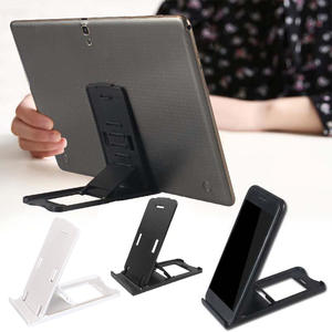 Tablet Stand Rectangle Shape Foldable Mount Holder Desk Adjustable Angle Portable Easy Use Universal Durable Home Office