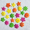 140 PCS/LOT. Mais Barato Mixed flor adesivos, Kids toy. Scrapbooking kit. Early educacional DIY. artesanato primavera. jardim de infância ofício. de Vendas