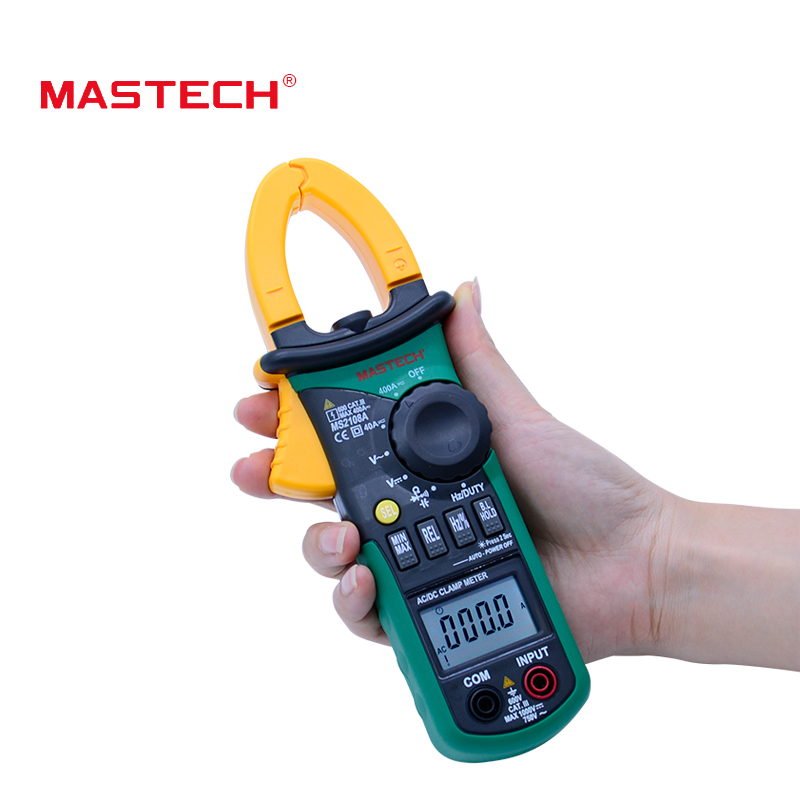 4000 Counts Digital Clamp Meter MS2108A Clamp Multimeter DCAC Voltmeter Current Meter Resistance Capacitance Frequency Tester