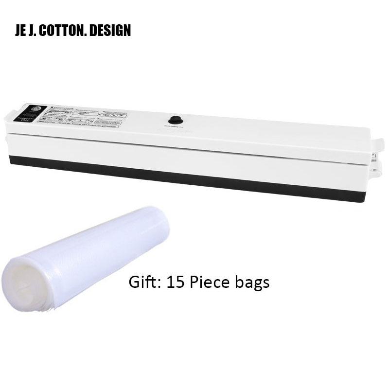 110 V 220 V Küchengeräte Vakuum Lebensmittel Versiegelungen mit Freies Taschen Vacuum Packer Vakuum Verpackung Verschließmaschine Pakete für lebensmittel