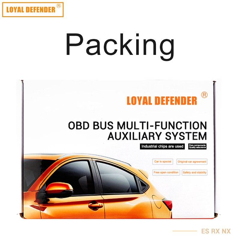 Yeni OBD Avtomobil pəncərəsi CANBUS OBD yuvası Lexus es rx nx - Avtomobil ehtiyat hissələri - Fotoqrafiya 3