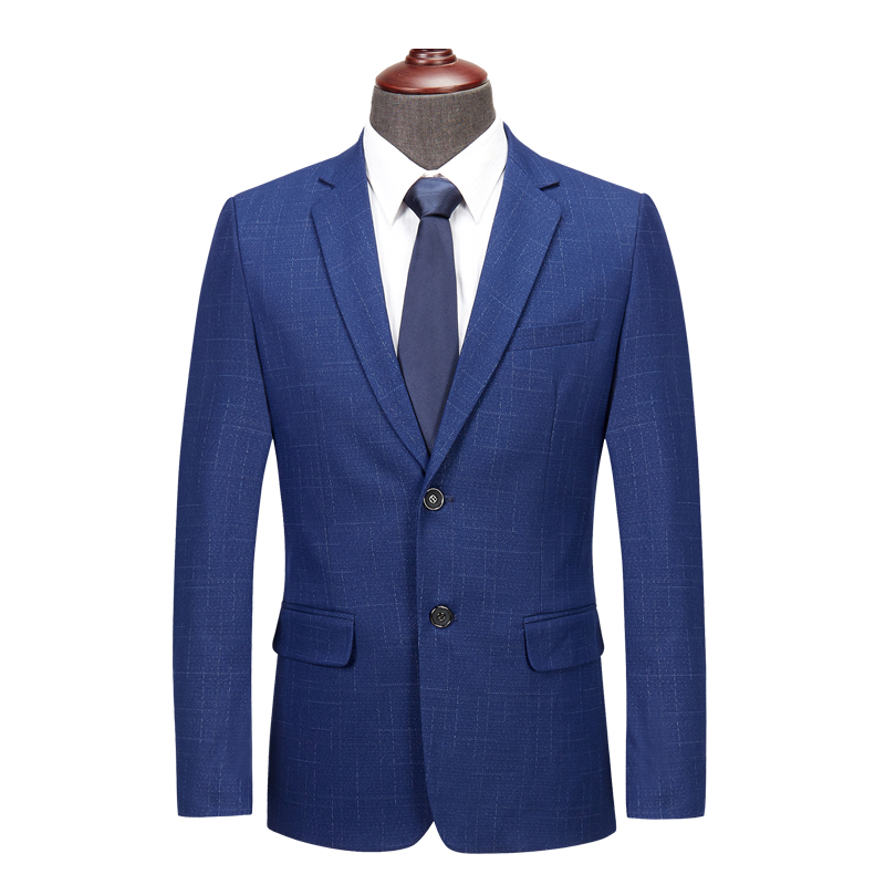 2019 new small suit men's fashion two single-breasted business casual large size suit S-4XL men's slim casual suit jacket