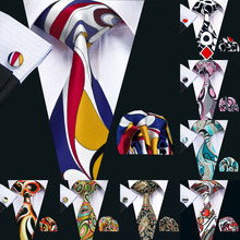 hot deal buy men tie paisley printed necktie gravata neckwear barry.wang fashion set ties for men formal wedding party business us-1230