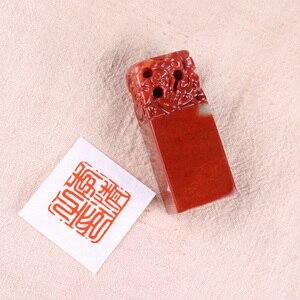 Image 5 - Sello de sello chino, sello de nombre para signet Logo/sello de imagen, sello de firma, bricolaje, decoración para Scrapbook