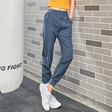 2018 new 4 piece women sportswear female running pants women yoga loose pants Female Trousers Casual  Quick Drying Fitness Workout Long baggy Pants  Running sportswear