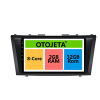 otojeta big screen hd car DVD player radio headunit tape recorder for TOYOTA CAMRY 2011 android 8.1 multimedia stereo