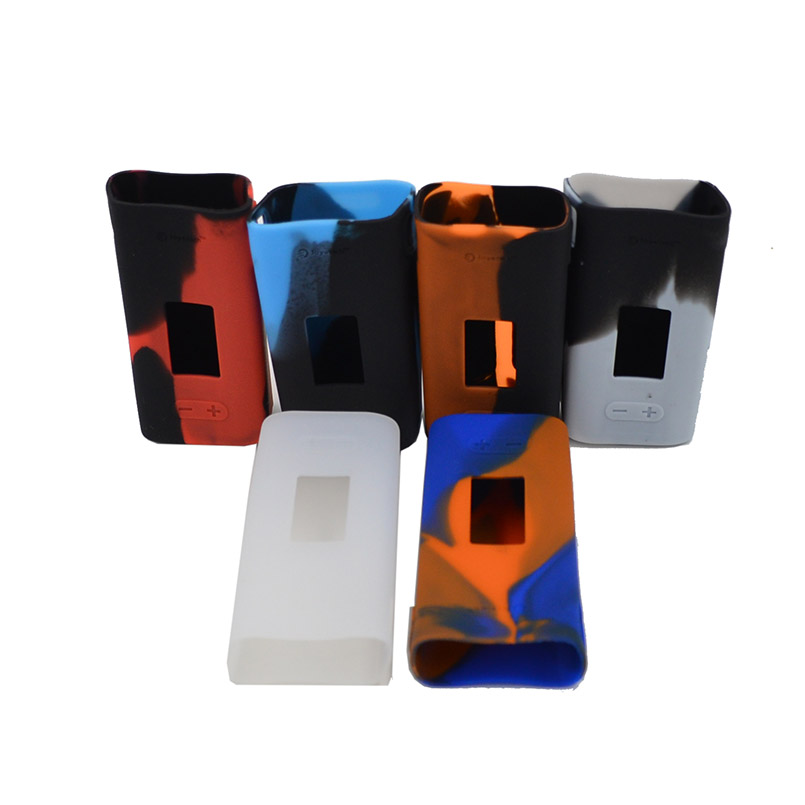 Non-scratch Joyetech cuboid mini 80w Box mod rubber silicone case/skin/sleeve/cover/enclosure/decal/wrap for cuboid 80 w kit