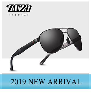 20/20 Brand New Unisex Sunglasses Men Polarized Lens Vintage Round Metal Eyewear Accessories Sun Glasses for Women 17018-1 20