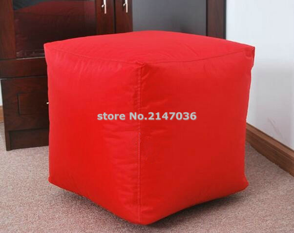 New Design Green Cube Bean Bag Seat Cushion Foot Rest Stool Small Home Furniture Ottoman Chair In Sofas From On Aliexpress
