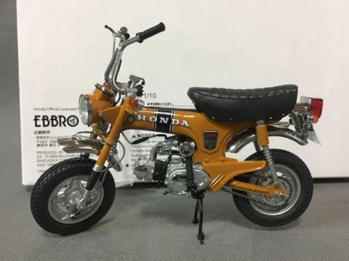 EBBRO, 10006, 1/10 échelle, DAX Honda, ST50 1969, or, Rare