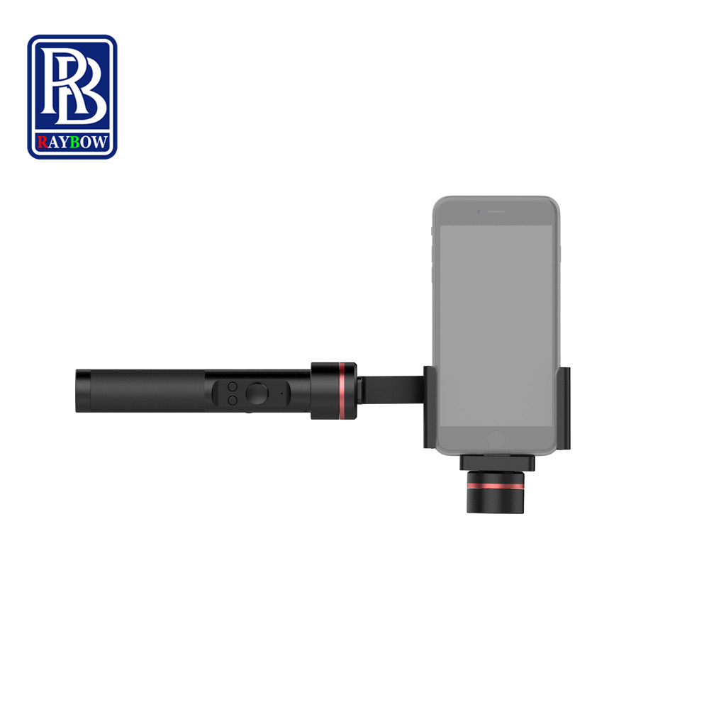 Raybow S2 3 Axis handheld font b smartphone b font cell phone camera video stabilizer for