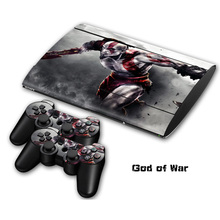 4 styles God of war Non slip Waterproof Protective Host Stickers Case 2pcs Controller Stickers Skins
