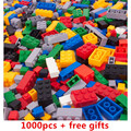 1000 unids ladrillos Bloques de Construcción de Juguetes Educativos Juguetes Compatible con lepin