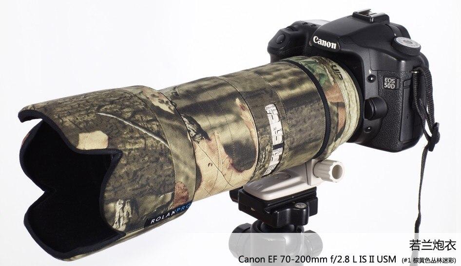 3 Colores Tapa de campana final de Lente Impermeable Para Canon 70-300 mm F4-5.6 L IS USM