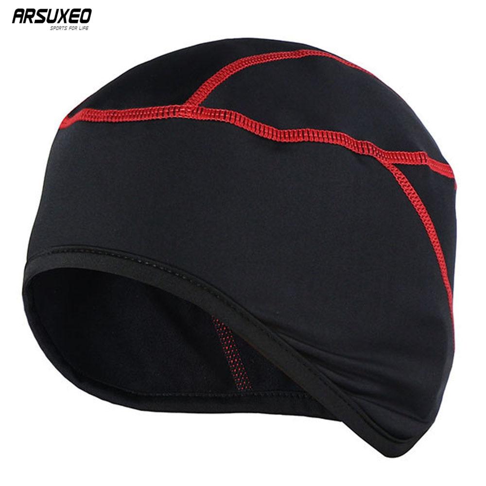 Cycling Cap-Unisex Windproof Warm-Keeping Winter Running Cycling Outdoor Sports Fleece Hat Cap Flame