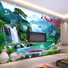 3D custom popular modern the world of fairyland scenery wallpaper large mural wall paper for living room bedroom hallway study цены