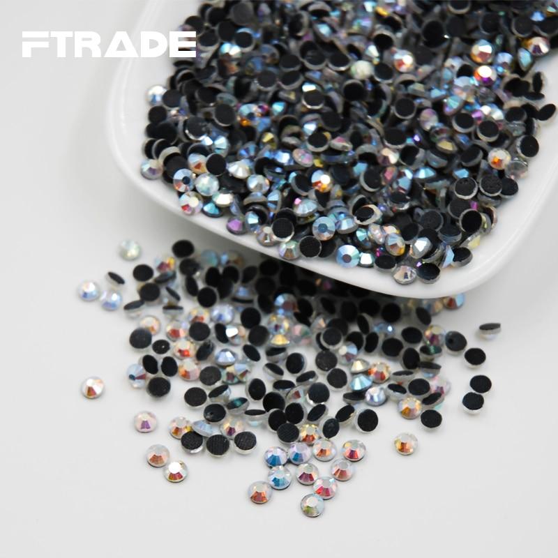 ... AB DMC Flatback Hot Fix Rhinestones Glass Strass Hotfix Rhinestones For  Luxury Dress-in Rhinestones from Home   Garden on Aliexpress.com  4b715f889aec