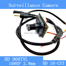 HD Color CMOS 900TVL CCTV Camera Module 1080P 2.8mm Lens IR-CUT dual-filter switch surveillance cameras