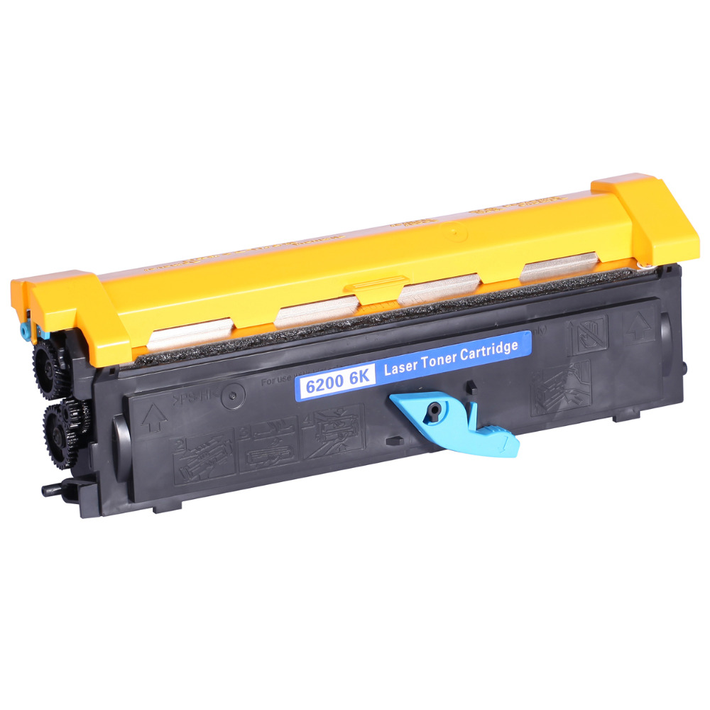 6000 Pages Black Toner Cartridge Compatible For EPL 6200 For Epson S0501666000 Pages Black Toner Cartridge Compatible For EPL 6200 For Epson S050166