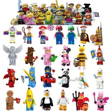 Legoings Friends Stitch Toy Story Figures Unicorn Car Boy Panda Unikitty Minnie Mouse Building Blocks Pumping Girl Gift Toys(China)