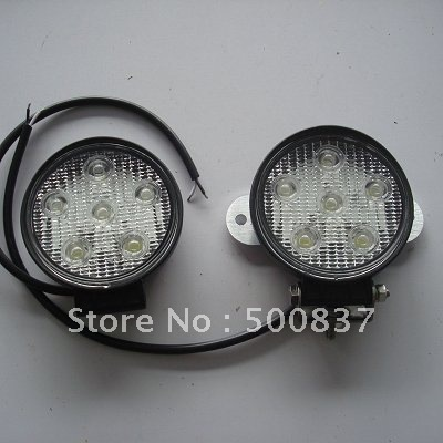 free shipping 18W LED auxiliary lamp for SUV bumper High Brightness LED fog light LED Project Light
