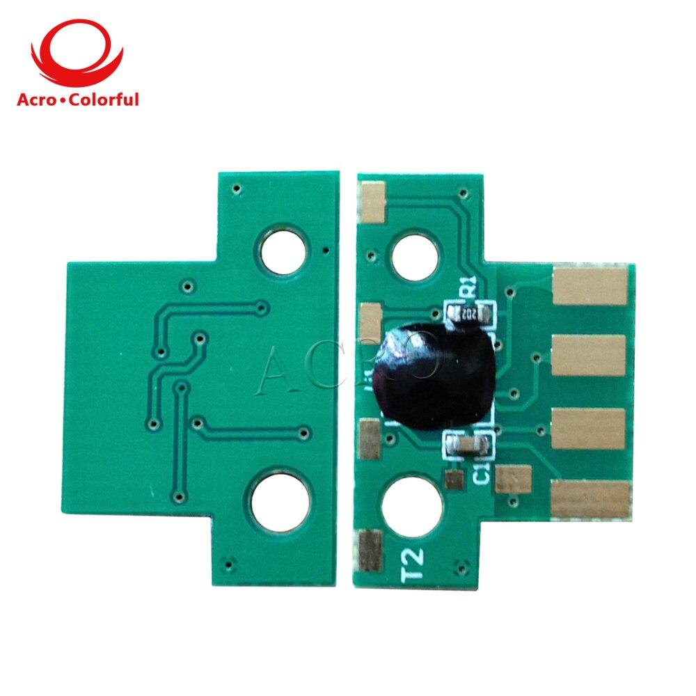 One set 80C8XK0 80C8XC0 80C8XM0 80C8XY0 Toner Reset Chip for Lexmark CX510de / dhe / dthe Cartridge