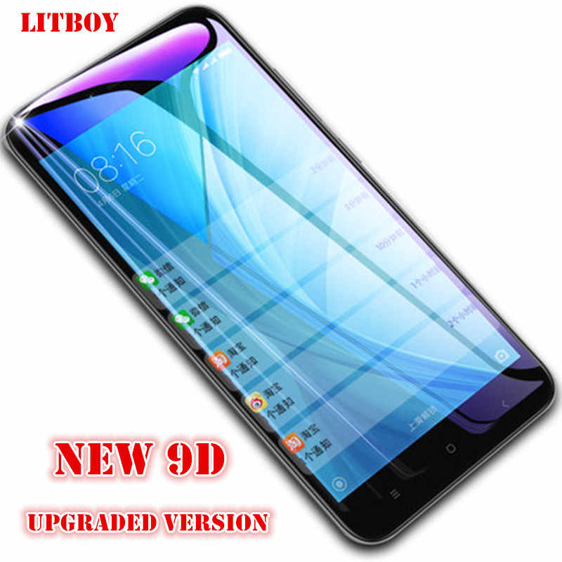 9D защита экрана из закаленного стекла для Xiaomi Redmi Note 6 5 5A Redmi 4X 5A 6A Защитное стекло для Redmi 5 Plus 6 Pro S2 пленка