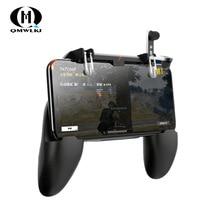 3 in 1PUBG inteligentny telefon mobilny wyzwalacz gier kontrolera Pubg przycisk ognia przycisk celu L1 R1 do gier joysticki mobilny Gamepad