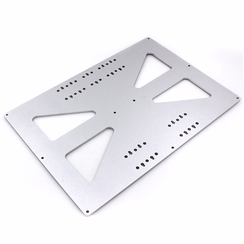 320*220*3.5 heatbed Ultimaker 2 UM2 Y Carriage Aluminum Anodized Upgrade Plate for RepRap Prusa i3 3d printer parts