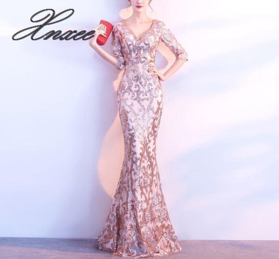 2019 ladies summer elegant party slim dress