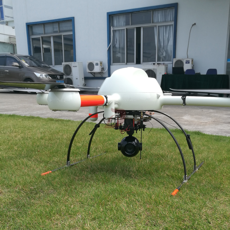 Купить с кэшбэком 3 Axis Lightweight 1080P HD 10x zoom Drone Aerial Camera UAV Gimbal Camera