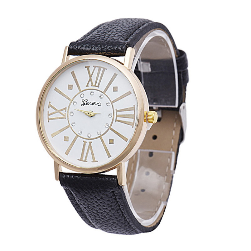 New Arrive New Brand Mens Quartz Watches High-end Roman Numerals Watches Mens Stainless Steel Wrist Watches for Gift