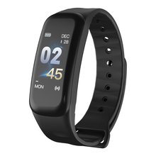 C1Plus Smart Bracelet Color Screen Blood Pressure Fitness Tracker Heart Rate Monitor Smart Band Sport for Android IOS недорого