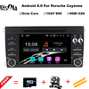 Android 8 0 Two Din 7 Inch Car DVD Player Stereo System For Porsche Cayenne With
