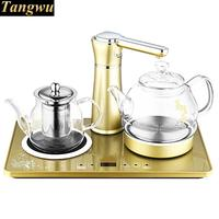 Automatic water boiler glass raised pot with boiled tea heater Anti dry Protection