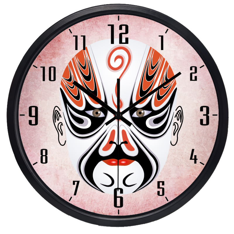 Aliexpress Buy China Sichuan Painted Surface Spectrum Decorate Wall Clock Culture Traditional Living Room From Reliable Suppliers On