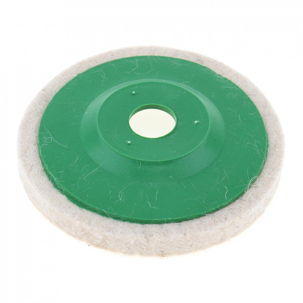 Precision Soft Wool Polishing Plate Felt Wheel For Metal / Glass / Ceramics
