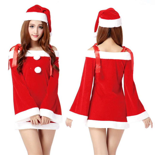 new funny design creative lovely christmas costume sexy women ladies halloween christmas party costumes temptation suit - Christmas Costume