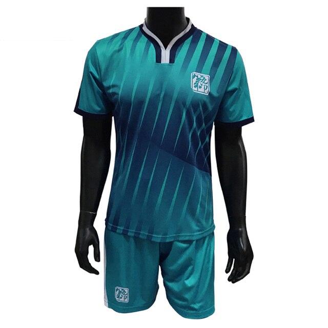53d18db62fd Men survetement football jerseys kit sports soccer jersey sets uniforms  tennis shirts shorts suit quick dry free Custom Printing