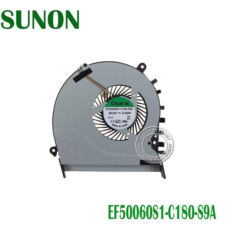 CPU Fan For Asus Vivobook S551LB V551LB S551 V551 Laptop Cpu Cooling Fan Cooler EF50060S1-C180-S9A