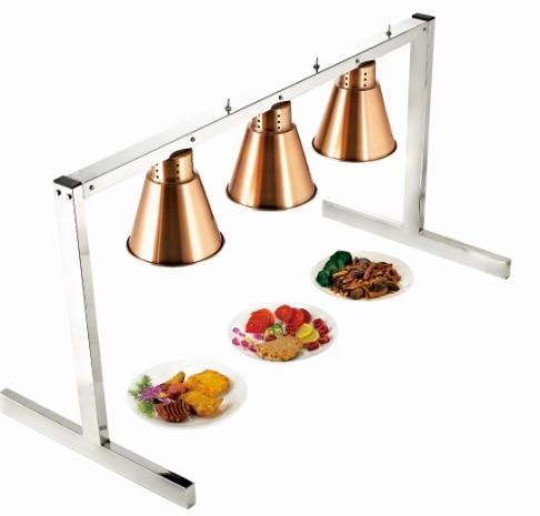 Hotel Equipment Three Lamp 4 Lamp Food Warmer Infrared