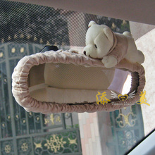 Bear Doll Styling Car Interior Rear View Mirror Camera Cover Cartoon Bruins Doll Car-styling Automobiles Accessories Ornaments