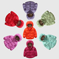 The new winter 2016 children of thin section of private children coat to keep warm hooded hand quilted jacket for 2-7T