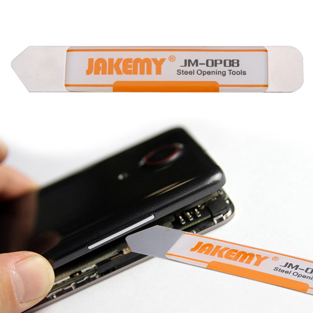 JAKEMY Screwdriver Set Phone Pry Opening Tools for Disaembling Double end Design Stainless Steel Repair Tools