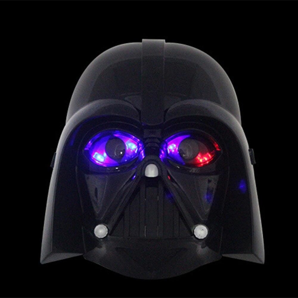 2 Colores Negro Blanco Máscara de Star Wars Casco Fresco Darth Vader - Para fiestas y celebraciones - foto 3
